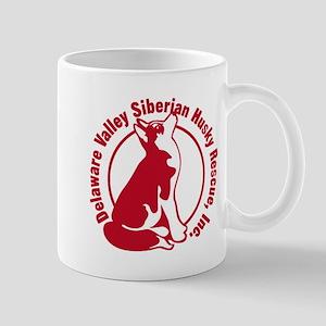 DVSHR Red Logo Mug