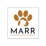 """Marr Logo Sticker 3""""X3"""""""