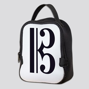 AltoClefSimple Neoprene Lunch Bag