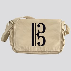 AltoClefSimple Messenger Bag