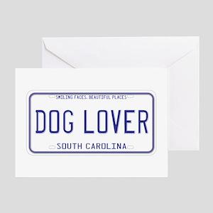 South Carolina Dog Lover Greeting Card