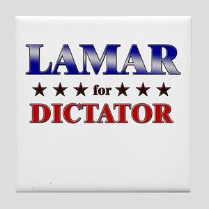 LAMAR for dictator Tile Coaster