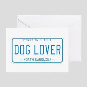 North Carolina Dog Lover Greeting Card