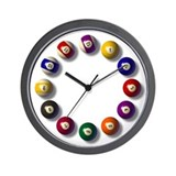 Billiards Wall Clocks
