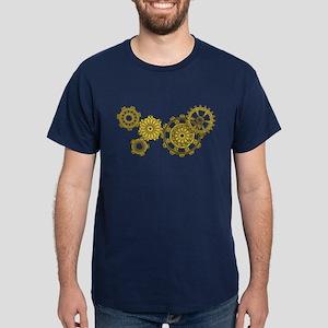 Woven Clockwork Dark T-Shirt