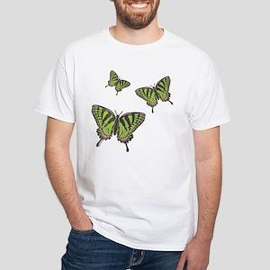 Celtic Swallowtail White T-Shirt