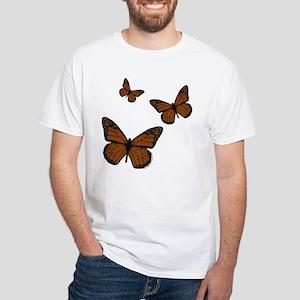 Monarch White T-Shirt