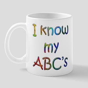 I Know my ABC's Mug