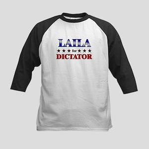 LAILA for dictator Kids Baseball Jersey