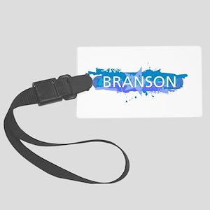 Branson Design Large Luggage Tag