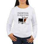 Yes, I'm Goat Crazy! Long Sleeve T-Shirt