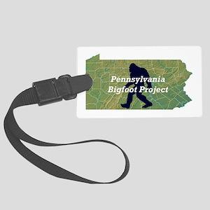 Pennsylvania Bigfoot Project Luggage Tag