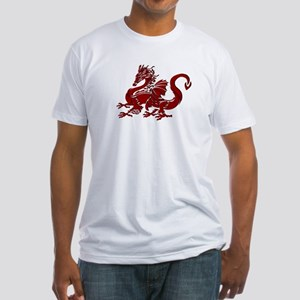 Red Dragon Fitted T-Shirt