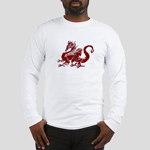 Red Dragon Long Sleeve T-Shirt