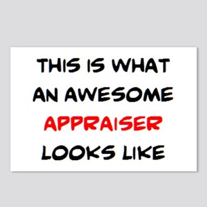 awesome appraiser Postcards (Package of 8)
