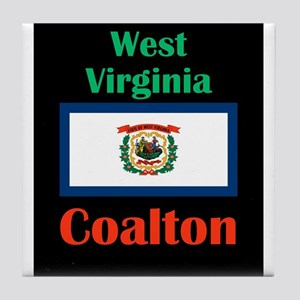 Coalton West Virginia Tile Coaster