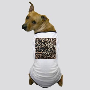 girly safari leopard print Dog T-Shirt