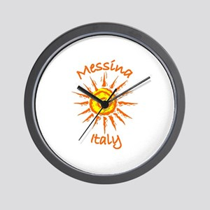 Messina, Italy Wall Clock