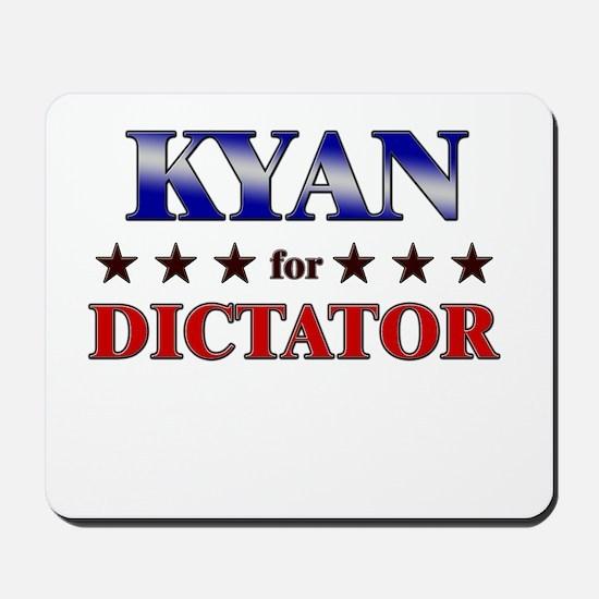 KYAN for dictator Mousepad