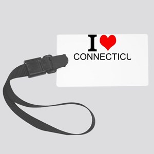 I Love Connecticut Luggage Tag
