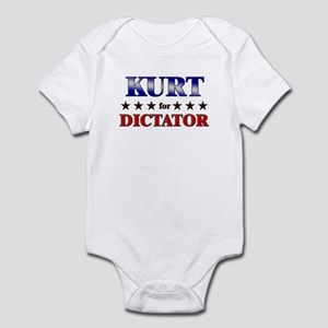 KURT for dictator Infant Bodysuit