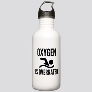 Oxygen Is Overrated Stainless Water Bottle 1.0L