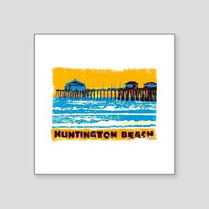 Huntington Beach Pier Sticker