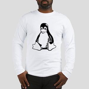 linux tux penguin Long Sleeve T-Shirt