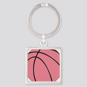 Pink Basketball for Girls Keychains