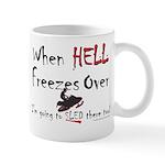 HELL FREEZES DARK DEVIL Mugs
