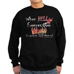 HELL FREEZES DARK DEVIL Sweatshirt