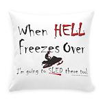 HELL FREEZES DARK DEVIL Everyday Pillow