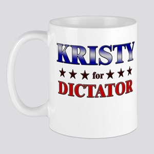 KRISTY for dictator Mug