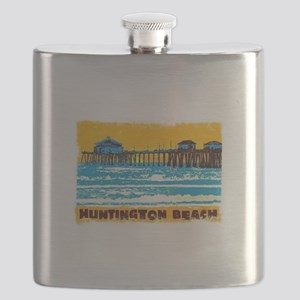 Huntington Beach Pier Flask