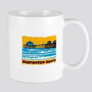 Huntington Beach Pier Mugs