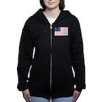 3-NEW-SLED-Flag-of-Sleds Women's Zip Hoodie