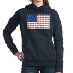 3-NEW-SLED-Flag-of-Sleds Women's Hooded Sweats