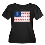 3-NEW-SLED-Flag-of-Sleds Plus Size T-Shirt