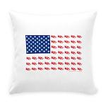 3-NEW-SLED-Flag-of-Sleds Everyday Pillow
