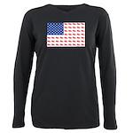 3-NEW-SLED-Flag-of-Sleds Plus Size Long Sleeve