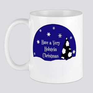 A Very Holstein Christmas Mug