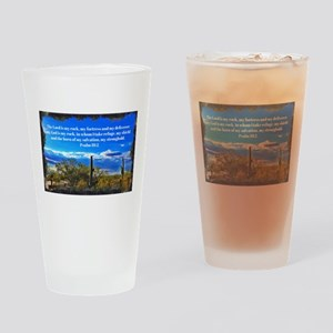 Psalm 18:2 Drinking Glass