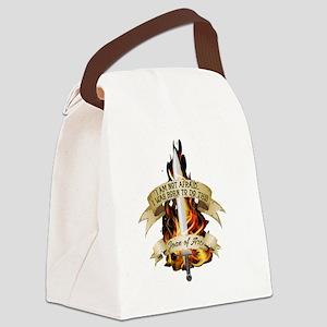 Joan of Arc - Born 2016 Canvas Lunch Bag