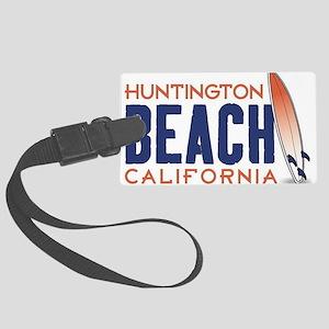 Huntington Beach, CA Luggage Tag