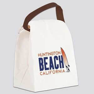 Huntington Beach, CA Canvas Lunch Bag