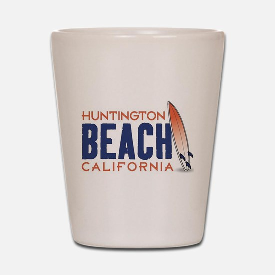 Huntington Beach, CA Shot Glass