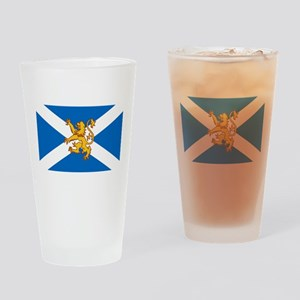 The Lion Rampant of Scotland Flag Drinking Glass