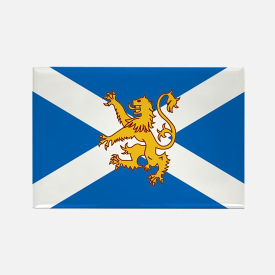The Lion Rampant of Scotland Flag Magnets