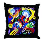 Techno Dance Pillow