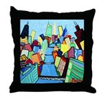 Throw Pillow<br>East River View